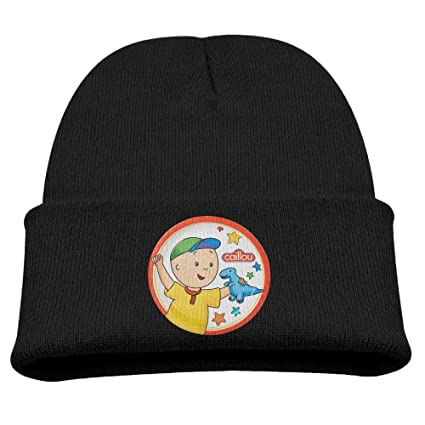 78b81dd5b92 Image Unavailable. Image not available for. Color  Caillou Cartoon TV Play  Warm Winter Hat Knit Beanie Skull Cap Cuff Beanie Hat Winter Hats