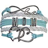 Mom Bracelet, Mom Jewelry, Mom Infinity Bracelet, Makes the Perfect Gift For Moms