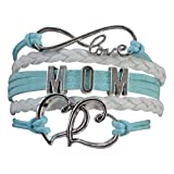 Amazon Price History for:Mom Bracelet, Mom Jewelry, Mom Infinity Bracelet, Makes the Perfect Gift For Moms