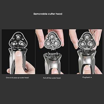 Afeitadora Eléctrica para Hombre Rotativa,para ENCHEN Afeitadora ...