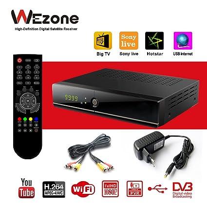 Wezone Digital Free To Air Dvb S2 Set Top Box 888 Plus Amazonin