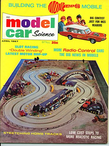 Model Car Science Magazine April 1967