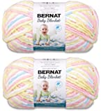 Bernat Baby Blanket Big Ball Yarn (2-Pack) Pitter Patter 161104-04616