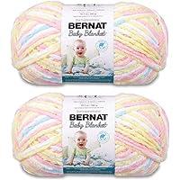 Bulk Buy: Bernat Baby Blanket Big Ball Yarn (2-Pack) Pitter Patter 161104-04616