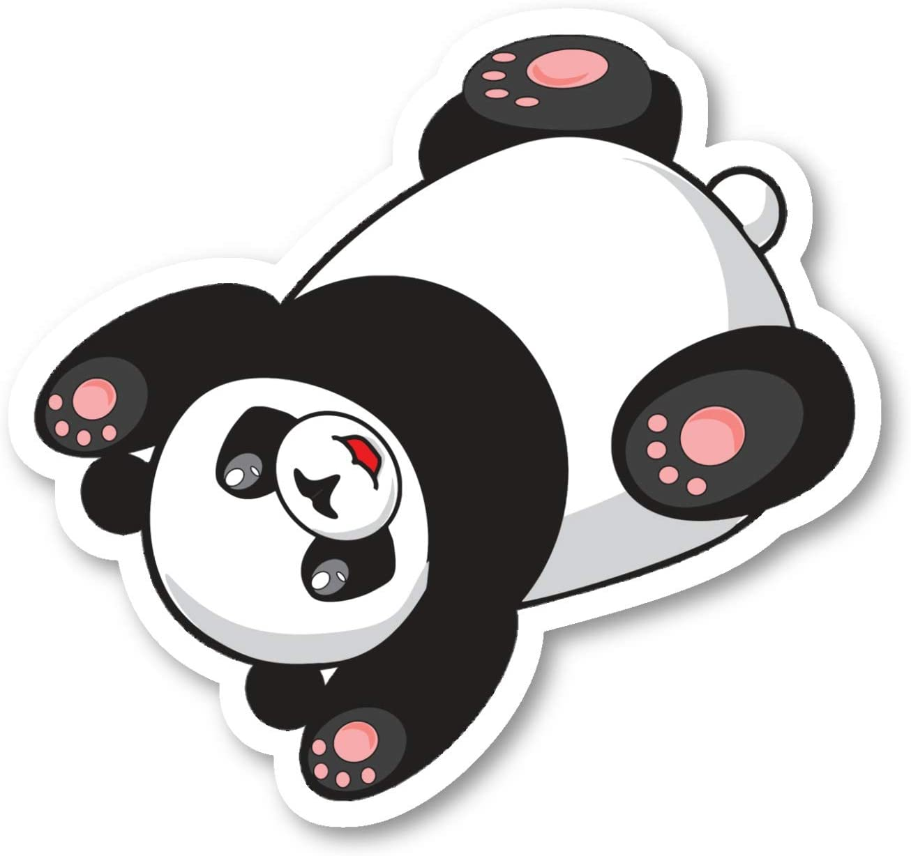 Panda Sticker Cute Panda Stickers - Laptop Stickers - 2.5 Inches Vinyl Decal - Laptop, Phone, Tablet Vinyl Decal Sticker S214564
