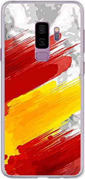 BJJ SHOP Funda Transparente para [ Samsung Galaxy S9 Plus ...