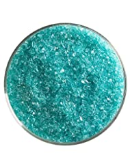 bullseye Translucent Frit, Medium, Light Aqua Blue