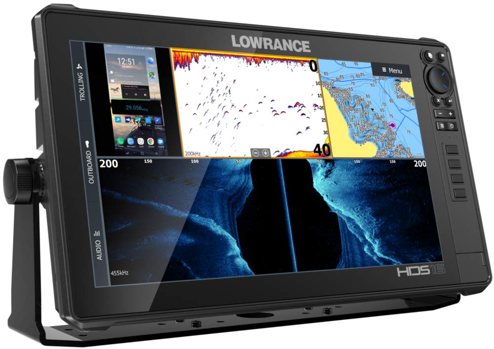 HDS-7 Live 7-inch Fish Finder No Transducer Model is Compatible with StructureScan 3D and Active Imaging Sonar Smartphone Integration Preloaded C-MAP US Enhanced Mapping /…