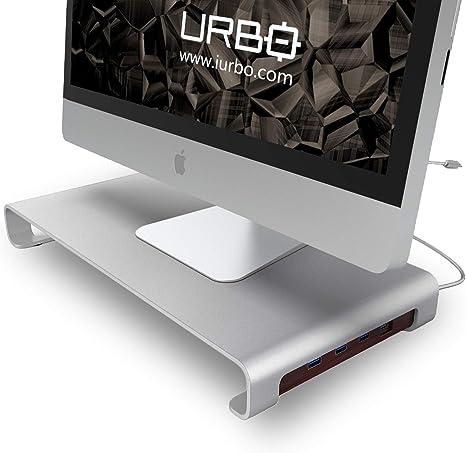 Urbo Bildschirmständer Mit Typ C Usb Hub Für Computer Zubehör