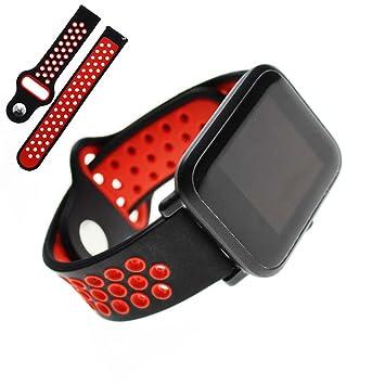 Cuigu 20 mm Universal Smart Watch Banda Silicona Bandolera ...