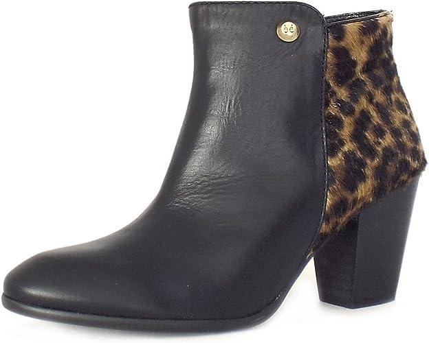 Elysess San Moritz Ankle Boots Leopard