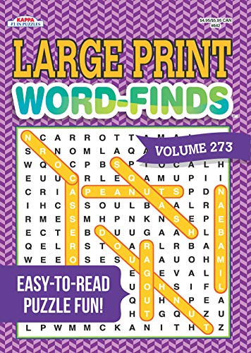 Large Print Word-Finds Puzzle Book-Word Search Volume 273