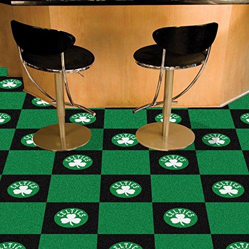 (Fanmats NBA - Boston Celtics Team Carpet Tiles)