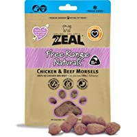 Zeal Free Range Naturals Chicken & Beef Morsels Freeze Dried Cat Treats 125g