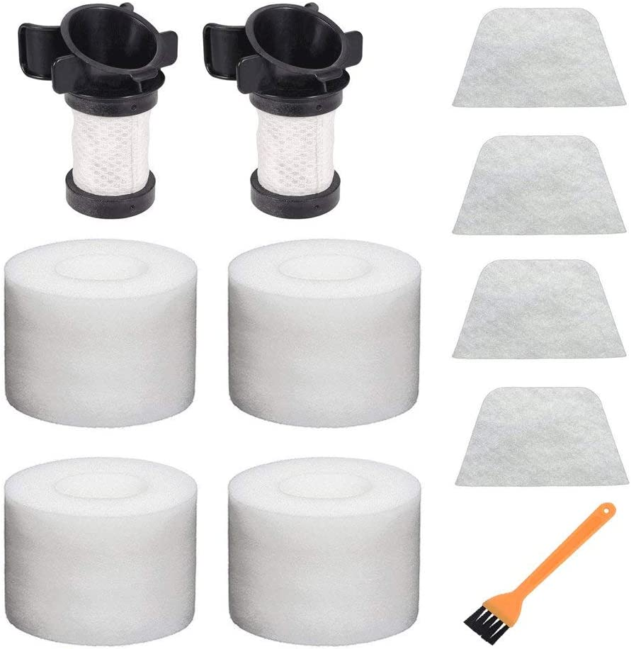 Filters for Shark IONFlex DuoClean Vacuum IC205 IF100 IF150 IF160 IF170 IF180 IF251 IF200 IF201 IF202 IF205 Replace XPREMF100 XPSTMF100 (11Pack)