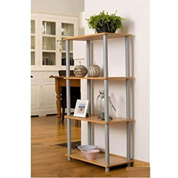 Wohnzimmer Regal Bücherregal Mit 4 Böden