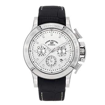 André Belfort Reloj Analógico para Hombre de Automático con Correa en Cuero 410314: Amazon.es: Relojes