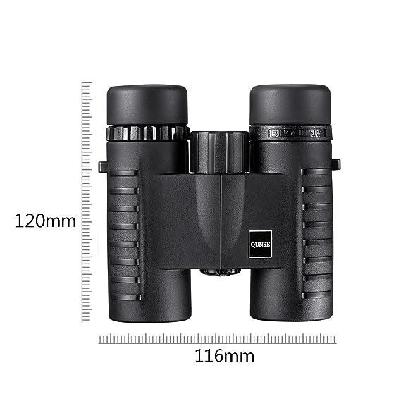 QUNSE 8X32 Compactos Prismáticos para la Observación de aves, Ligero y Compacto, Bueno para la Observación de Animales y pájaros Extendida, Adecuado para ...