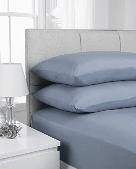 Extra Deep Fitted Sheets 16u0026quot;/40CM Deep 14 Colours (Double, ...