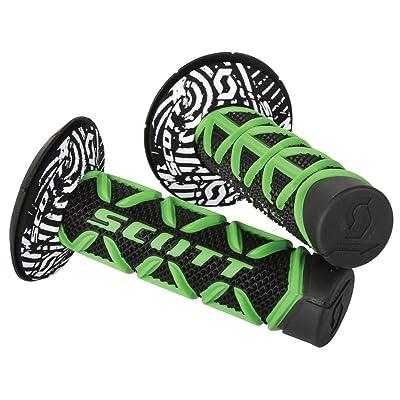Scott Sports 219626-1089 Green/Black Diamond Motorcycle Grips: Automotive