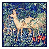 Orenco Originals Forest Deer by William Morris Counted Cross Stitch Pattern