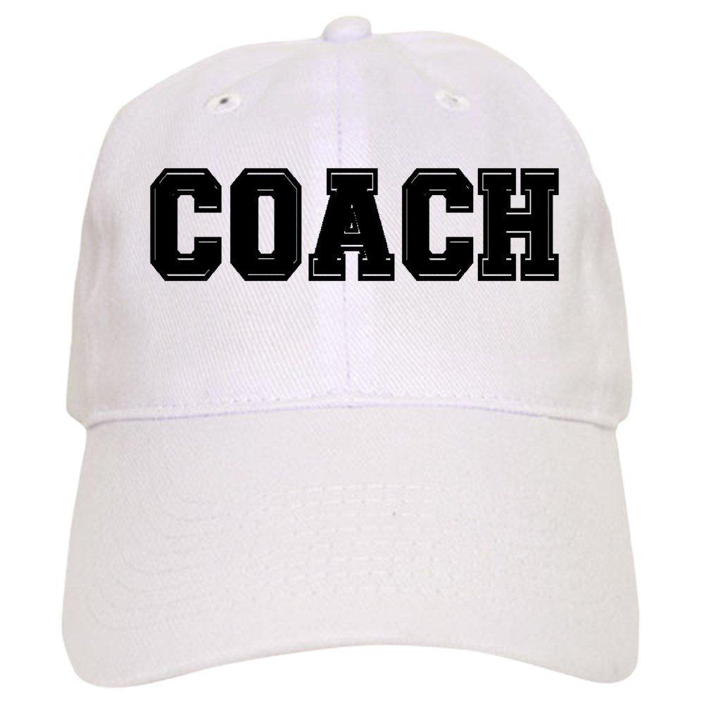 c9281353ea6 CafePress - Coach Cap - Baseball Cap with Adjustable Closure