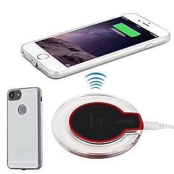 Antye Wireless Cargador iPhone 7, Qi inalámbrica Cargador ...