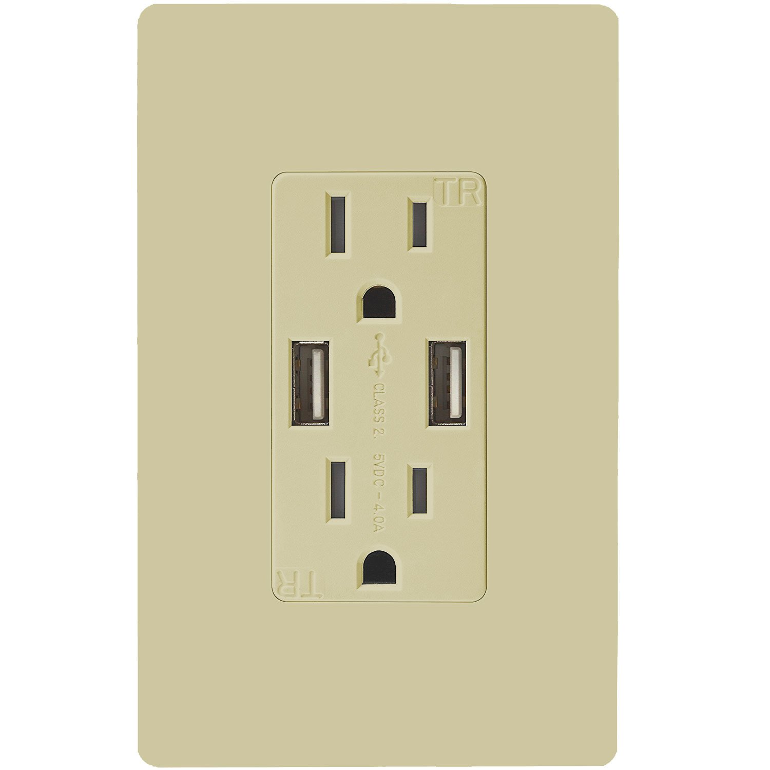 topgreener tu2154a high speed usb outlet wall charger 15a tr rh amazon com