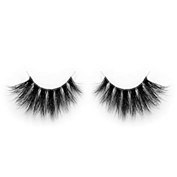 09123347e12 Lunamoon Invisible Transparent Band 3D Mink Fur Fake Eyelashes Women's  Makeup False Lashes Hand-made