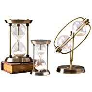 Pen Holders Fine Creative Antique Flowing Sand Street Lamp Pen Holder Student Gift White Hourglass Color Changing Night Light Decoration Office & School Supplies