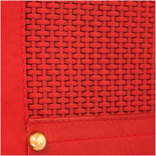 Red Velez Purse Colombian Mujer Carteras Cuero para Leather 1020664 Handbag Women Genuine de 6qPnqwBf