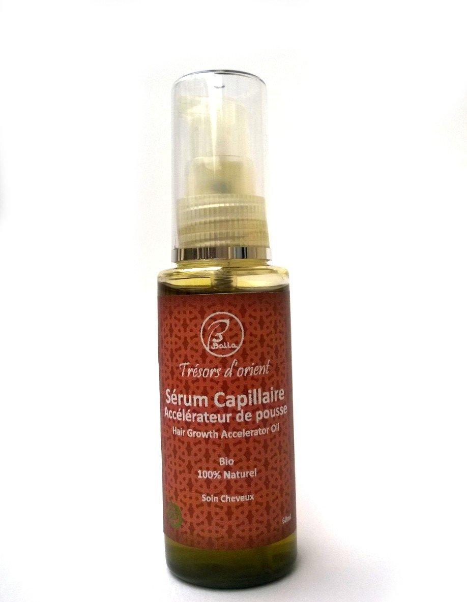 Balla - Suero acelerador de crecimiento del pelo ecológico y natural, 60 ml: Amazon.es: Belleza