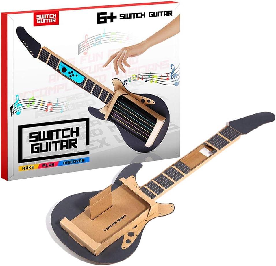 Kailisen Guitarra de Cartón Compatible para N-Switch Labo DIY ...