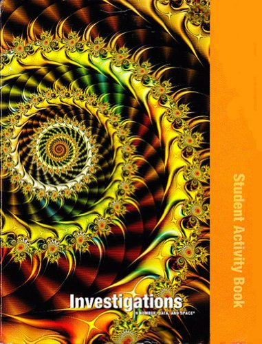 Investigations in Number, Data, and Space, Grade 4: Student Activity Book