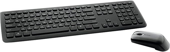 Black Wireless Mini Ultra Slim Keyboard and Mouse for LG Smart TV 47LM669S 55LB630V 55LB580V