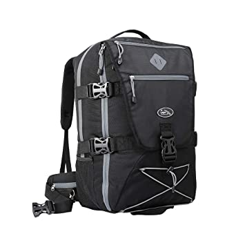 Cabin Max️ Equator 2.0 Flight Approved Backpack with Rain cover, perfect hiking backpack and travel