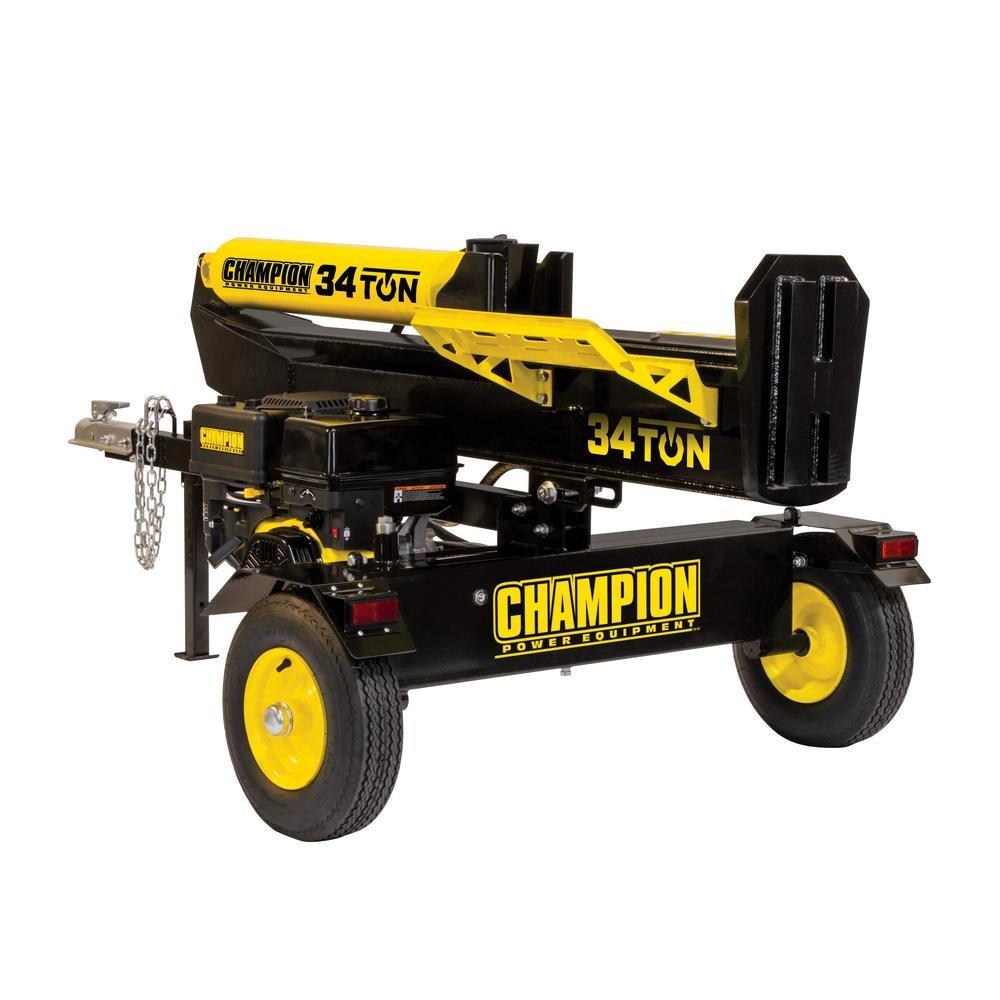Champion Power Equipment 34 Ton 338cc Log Splitter