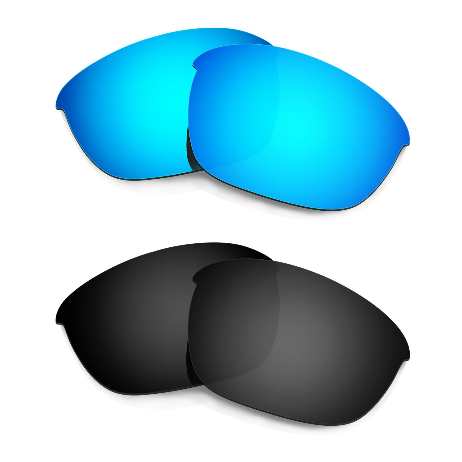 HKUCO Mens Replacement Lenses For Oakley Flak 2.0-3 pair VJ18jccZEO