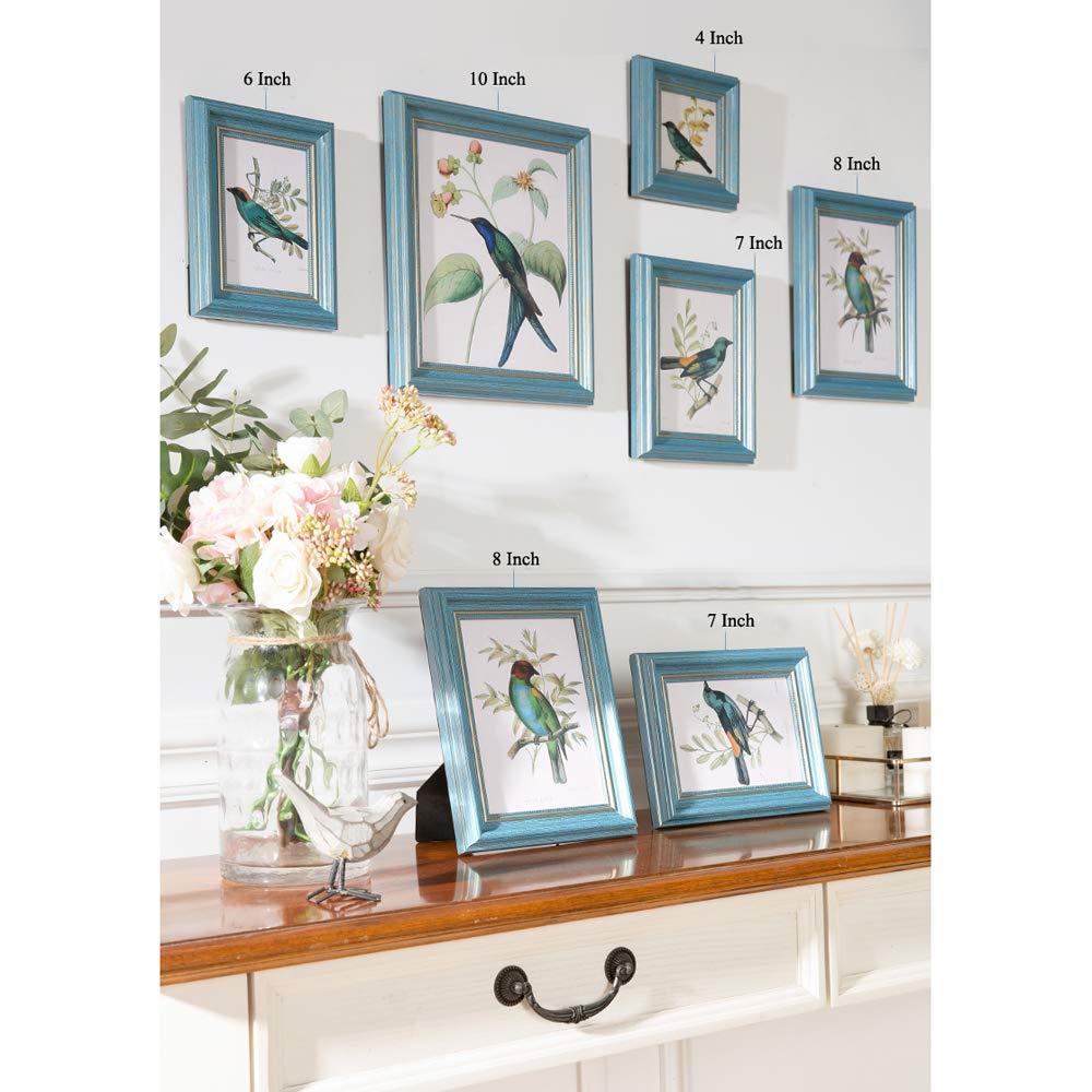 Marco de fotos para pared y mesa, estilo vintage, idea de ...
