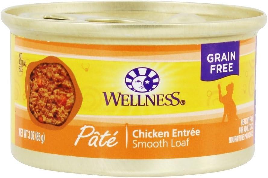 WELLNESS CAT FOOD CHKN, 3 OZ