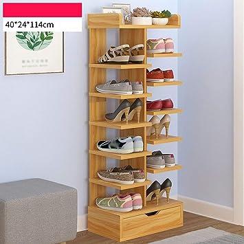 Amazon.com: XQY - Zapatero de madera para el hogar, armario ...