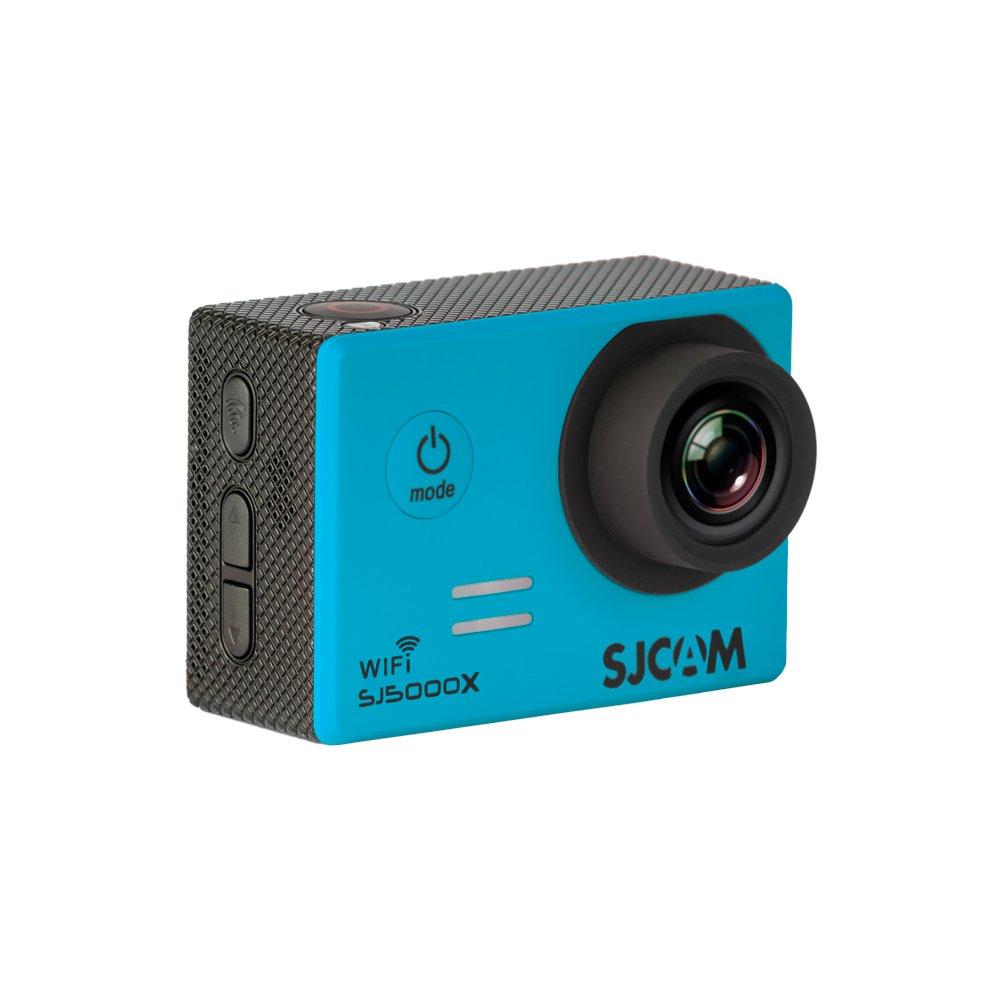 SJCam SJ5000 WiFi (versión española) - Videocámara deportiva (LCD 2.0, 1080p 30 fps, sumergible hasta 30m) color azul