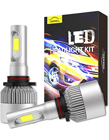 amazon com hid kits lighting conversion kits automotive 9006 hb4 led headlight bulbs onewell 60w 6000k 6000lm extremely bright xenon white