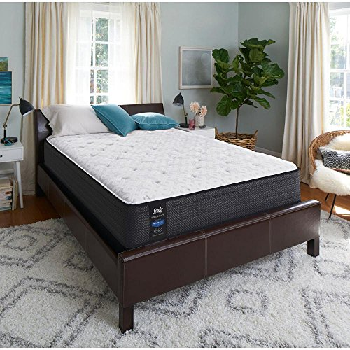 Sealy Response Performance 13 in. California King Plush Faux Euro Top Mattress Set with 5 in. Low Profile Foundation