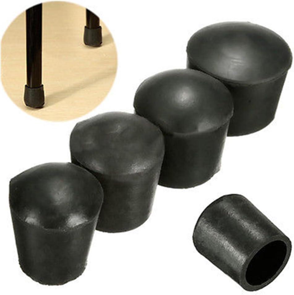 para Patas de Muebles SADA72 Juego de 4 Tapas para sillas de Mesa y sillas de Silla sillas y mesas de Goma Duradera 40 mm. de la Marca Show antiara/ñazos