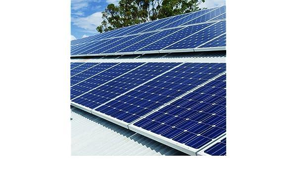 Plug-in Solar 3,25 kW (3250 W) DIY Kit de energía solar con para techo (para acero/aluminio hoja techos o de madera techos): Amazon.es: Bricolaje y ...