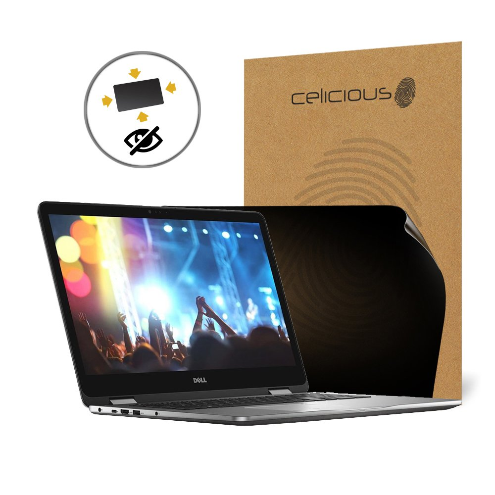 Celicious Privacy Plus 4-Way Anti-Spy Filter Screen Protector Film Compatible with Dell Inspiron 17 7773