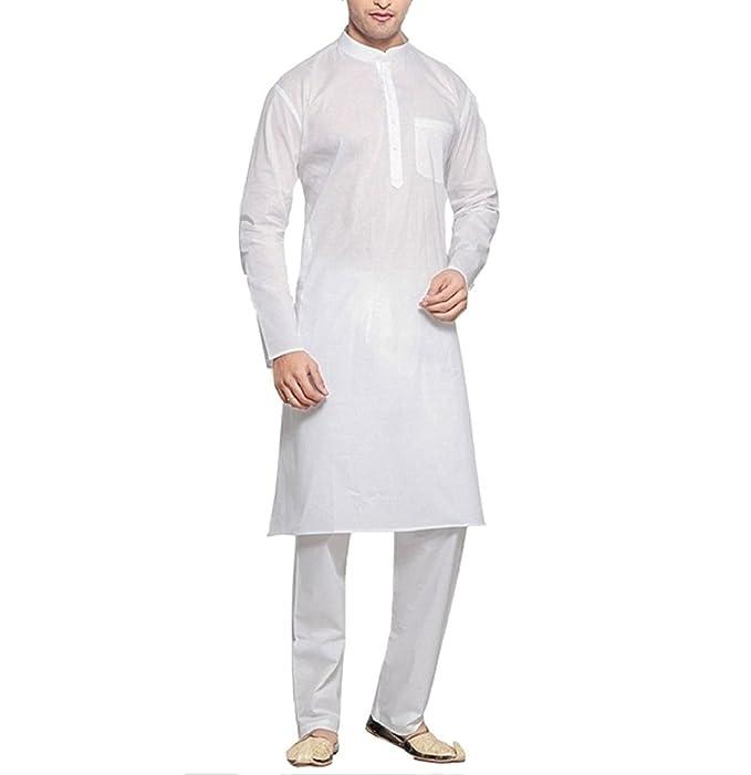 Kurta Pantalón de pijama - para hombre blanco blanco small