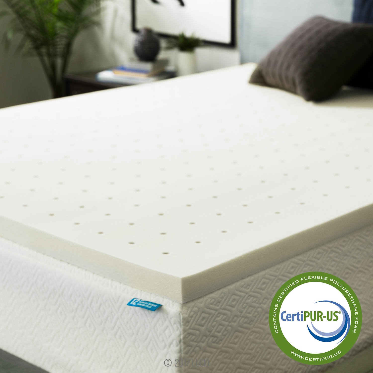 Signature Sleep Contour 8-Inch Independently Encased Coil Mattress with CertiPUR-US Certified Foam, Twin