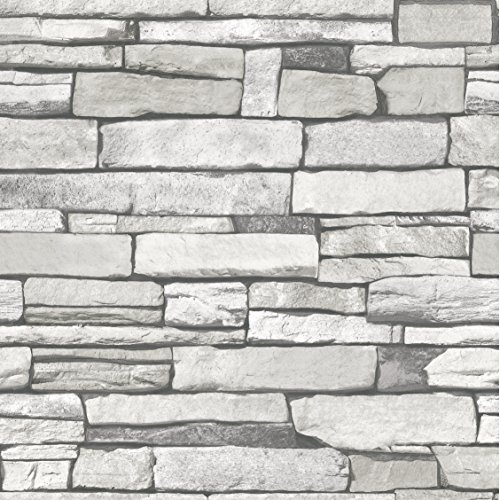 natural-stacked-grey-stone-brick-pattern-vinyl-contact-paper-self-adhesive-peel-stick-wallpaper